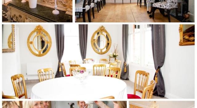 Belfast B&B Maryville House dining room