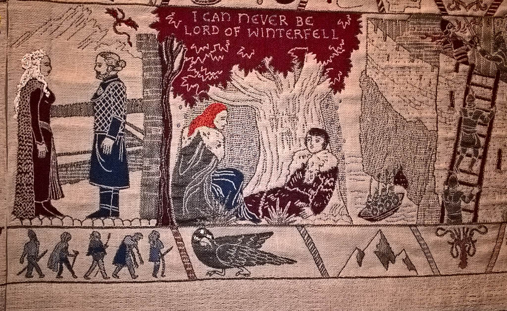 game of thrones tapestry belfast
